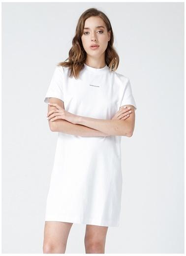 Calvin Klein Calvin Klein Elbise Beyaz